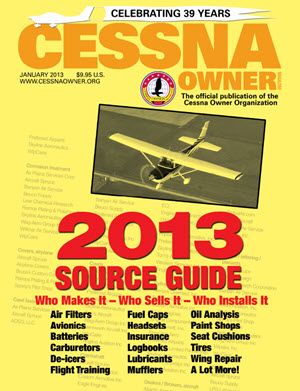 Cessna Owner Magazine January 2013