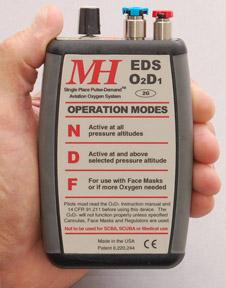 Aviation Oxygen O2D1-2G EDS Pulse Demand