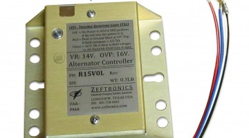 Aircraft Spruce Offers Zeftronics Alternator Control Units
