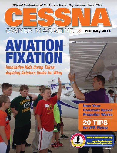 Cessna Owner Magazine February 2016