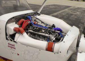 CD-133 Diesel Engine in Redhawk