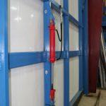 Schweiss Doors Introduces Hydraulic Door Wind Pin
