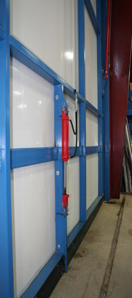 Schweiss Doors streamlined this process with it newly engineered design of an Wind_Pin1 & Schweiss Doors Introduces Hydraulic Door Wind Pin pezcame.com