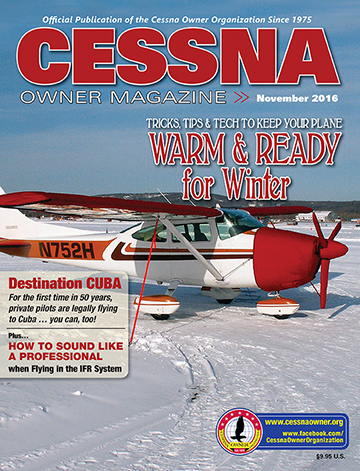 Cessna Owner Magazine November 2016