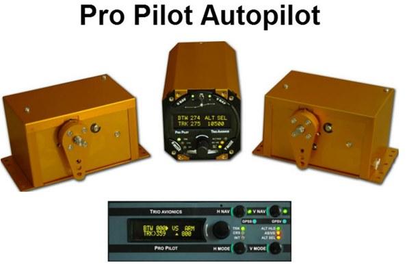Trio Pro Pilot Autopilot STC'd for Cessna 190/195