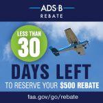 $500 ADS-B Rebate Program Offer Ends September 18