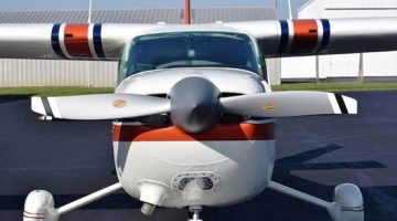 Hartzell 2-Blade Aluminum Scimitar Prop Approved as Replacement for Cessna 177B