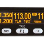 First preview of Trig's slimline Nav/Com family: The TX56/TX56A and TX57/TX57A