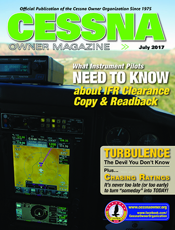 Cessna Owner Magazine July 2017
