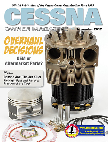 Cessna Owner Magazine November 2017