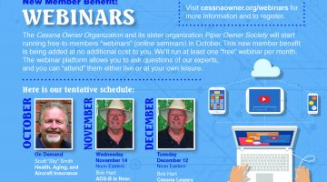 COO Launches Members-Only Webinars