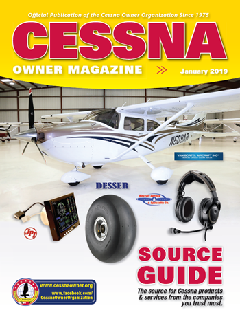Cessna Owner Magazine 2019 Source Guide