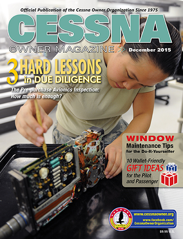 Cessna Owner Magazine December 2015