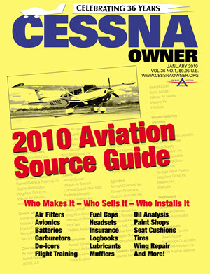 Cessna Owner Magazine January 2010