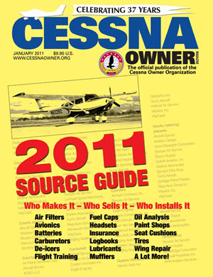Cessna Owner Magazine January 2011