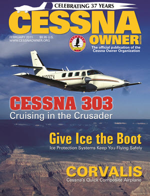 Cessna Owner Magazine February 2011