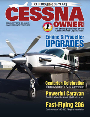 Cessna Owner Magazine February 2012
