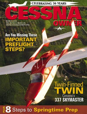 Cessna Owner Magazine March 2010