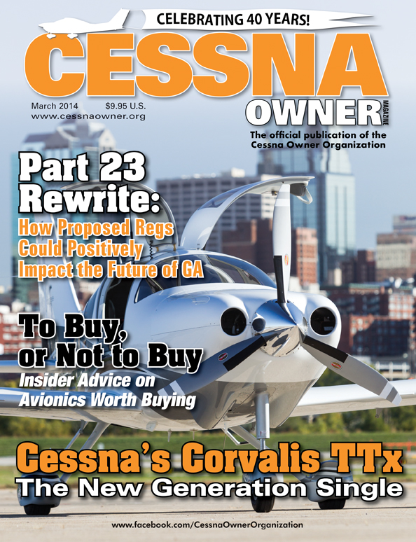 Cessna Owner Magazine March 2014