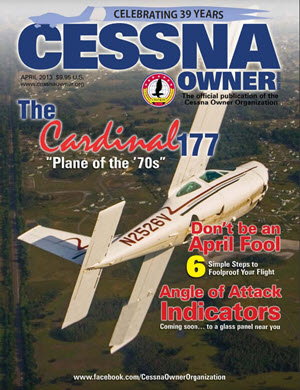 Cessna Owner Magazine April 2013