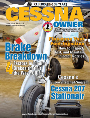 Cessna Owner Magazine June 2013