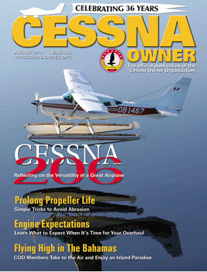 Cessna Owner Magazine August 2010