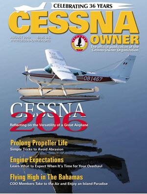 Cessna Owner Magazine August 2010