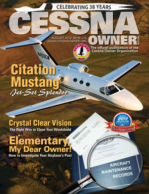 Cessna Owner Magazine August 2012