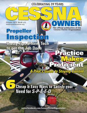 Cessna Owner Magazine October 2013