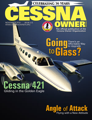 Cessna Owner Magazine November 2010