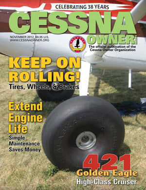 Cessna Owner Magazine November 2012