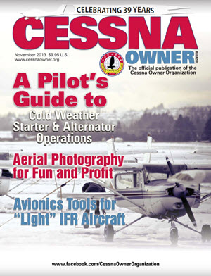 Cessna Owner Magazine November 2013