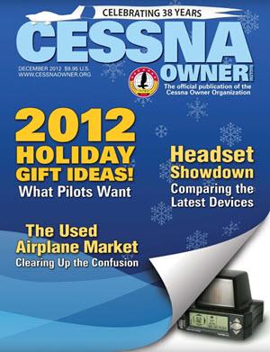 Cessna Owner Magazine December 2012