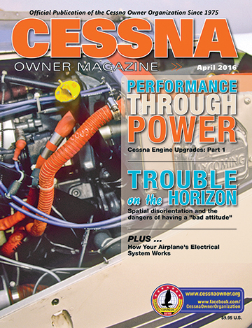 Cessna Owner Magazine April 2016