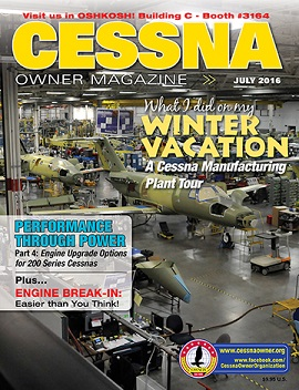 Cessna Owner Magazine July 2016