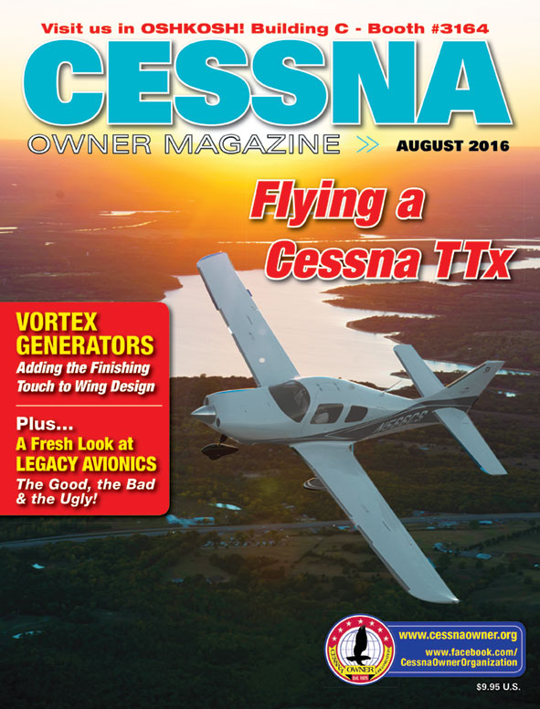 Cessna Owner Magazine August 2016
