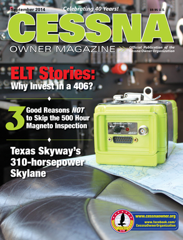 Cessna Owner Magazine September 2014