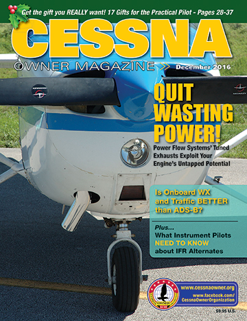 Cessna Owner Magazine December 2016
