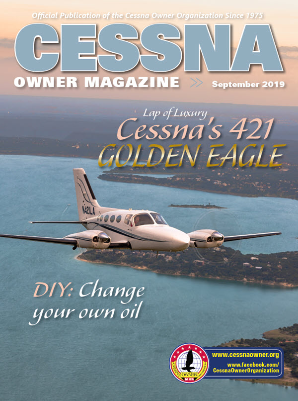 Cessna Owner Magazine September 2019