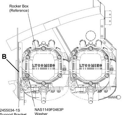 Cessna 172S Rocker Box Inspection