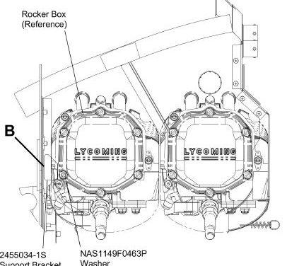Cessna 172S Rocker Box Inspection