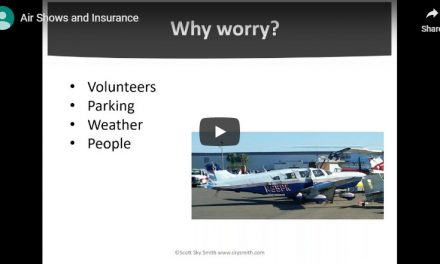 Air Shows and Insurance: The Webinar