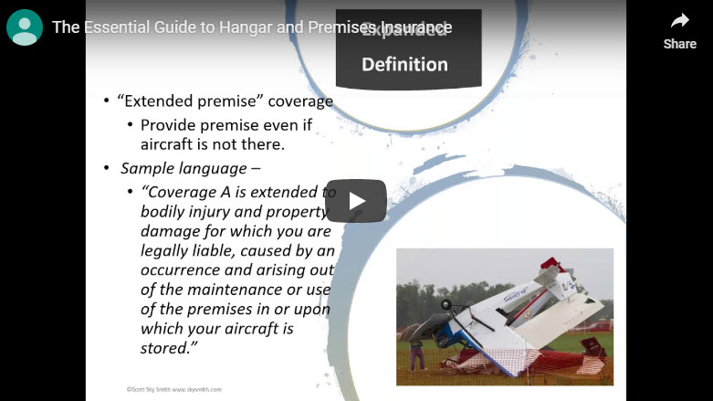 The Essential Guide to Hangar and Premises Insurance: Webinar