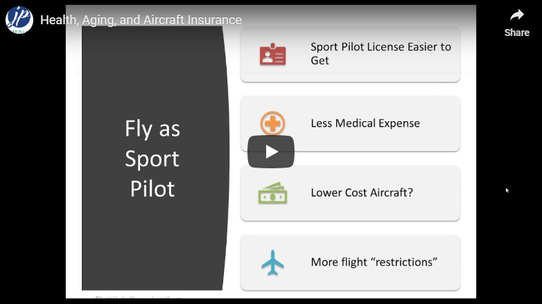 Health, Aging, and Aircraft Insurance: Webinar