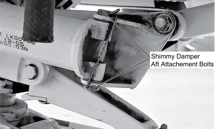 Service Bulletin on T206H Landing Gear Shimmy Dampener
