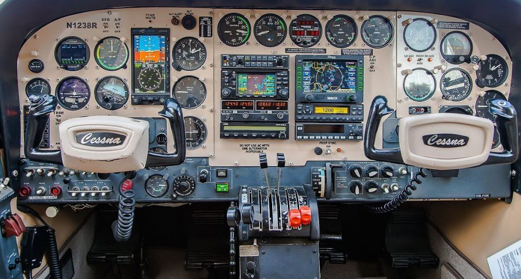 Cessna340_panel