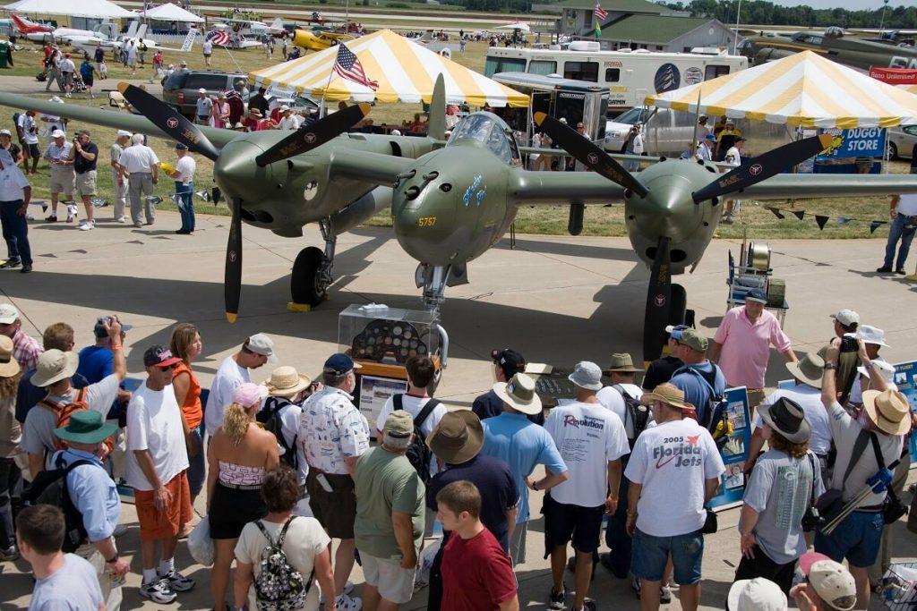 P-38 ground display